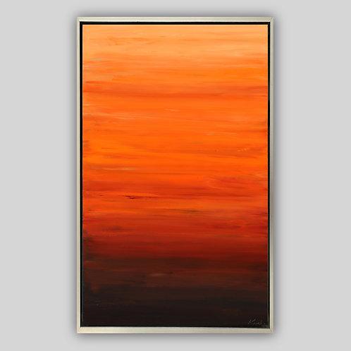 """Desert Orange, 48""""x30"""""""