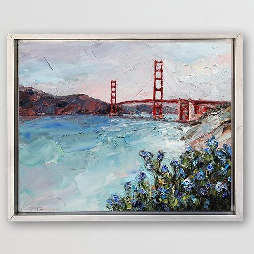 """Golden Gate, 16""""x20"""""""