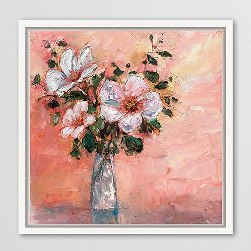 "Blossoms, 24""x24"""