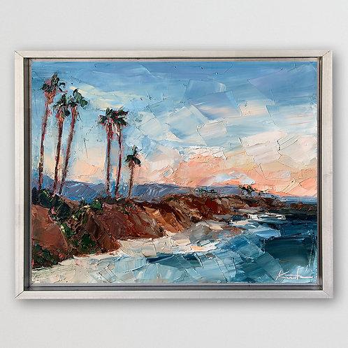 "California Coastline, 11""x14"""
