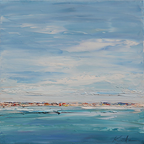 "Gulf of Mexico, 12""x12"""