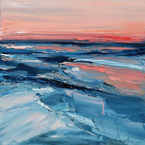 """Two Oceans, 12""""x12"""""""
