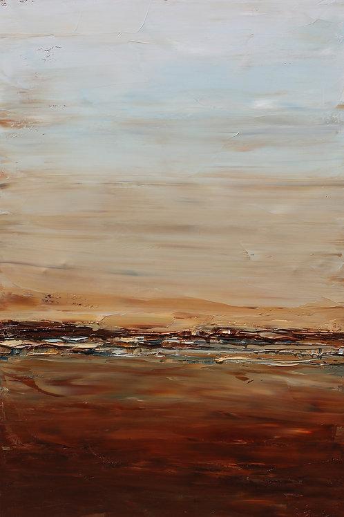 """Desert Horizon, 24""""x36"""""""