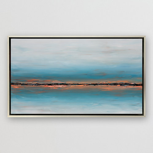 "Edge of the Horizon, 36""x60"""