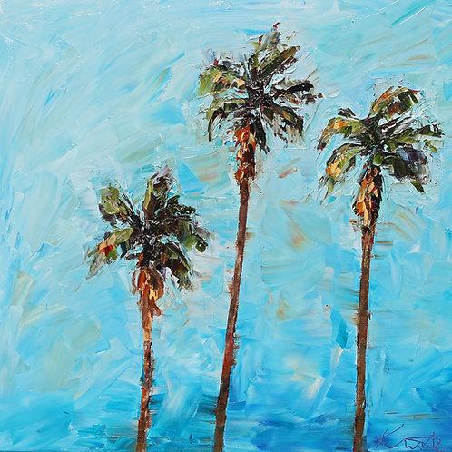 """Palms, 20""""x20"""""""