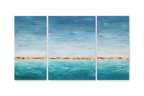 """The Shores is Home, 48""""x84"""""""