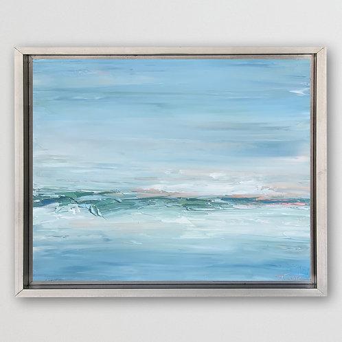 "Emerald Horizon, 16""x20"""