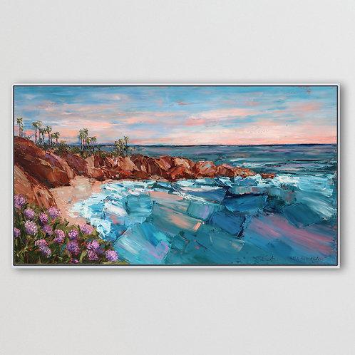 "Coastal California, 40""x72"""