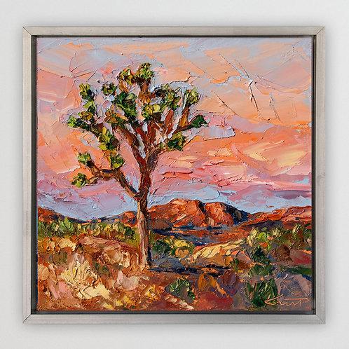 "Joshua Tree, 12""x12"""