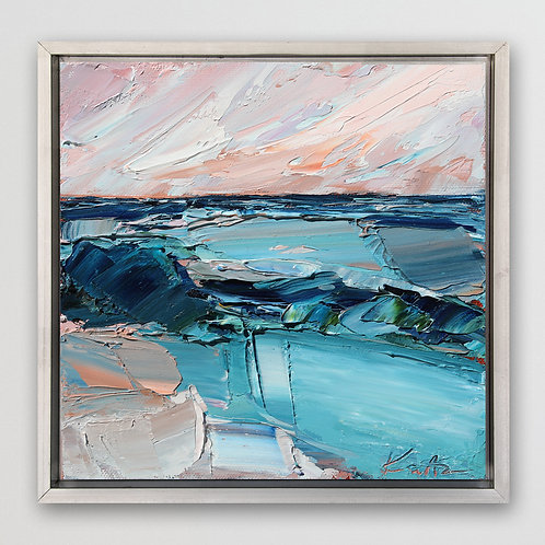 """Changing Tides, 8""""x8"""""""