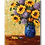 "Thumbnail: Sunflower Explosion, 40""x30"""
