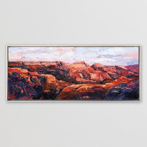 "Grand Canyon, 16""x40"""