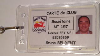 Badge d'identification
