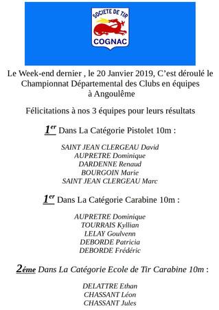 Championnat Départemental des Clubs en équipes