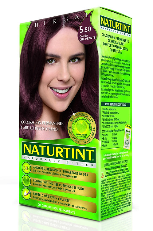 NATURTINT NATURALLY BETTER 5.50 CAOBA CHISPEANTE