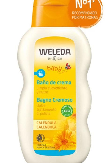 Baño de Crema de Caléndula