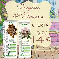 Pack Propoleo+Valeriana