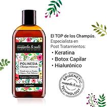 CHAMPU POLINESIA KERATINA 250 ml