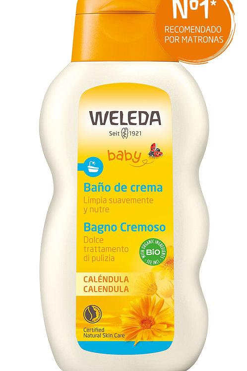 BAÑO CREMA BEBE CALENDULA 200 ml