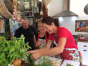 Jane's classes at Hinton Bay Kitchen