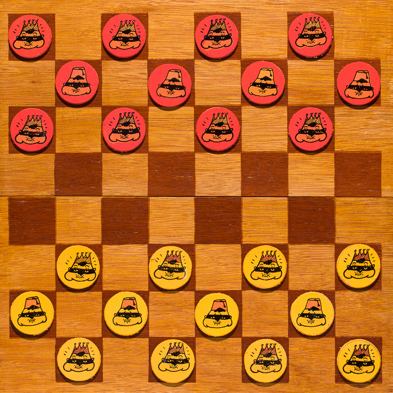 New Year New Me Checkers