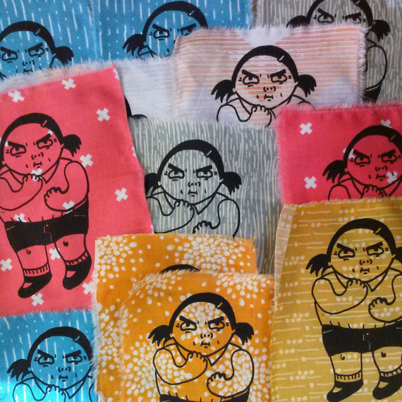 girl gang patch army