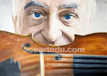 My violin teacher