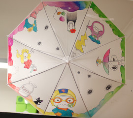 Character Umbrella Design
