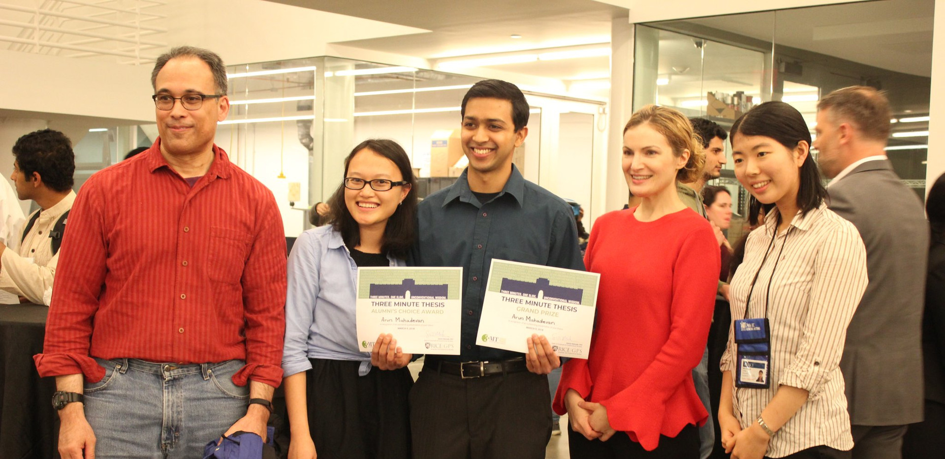 Arun wins 3-Min Thesis Pitch