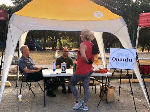 Quantu Project presented at Health & Wellness Fair
