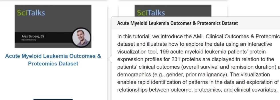 Leukemia Data Visualization Highlighted