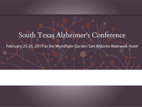 Quantu Project Presented at Inaugural South Texas Alzheimer's Conference