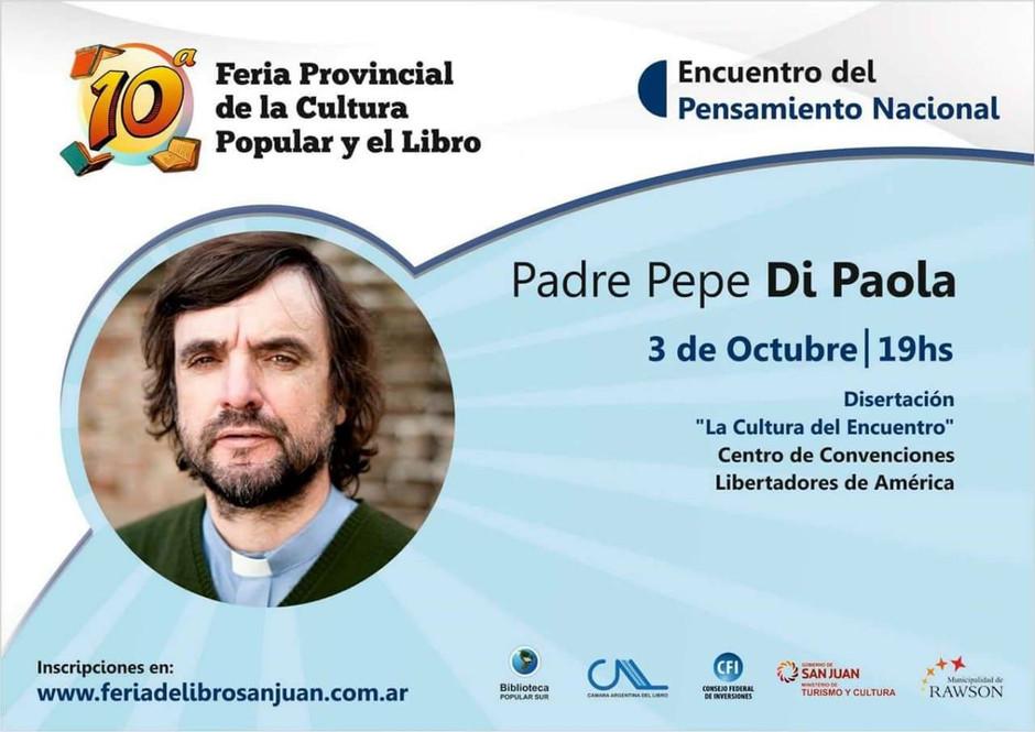 El Padre Pepe estara en la Feria del libro en San Juan. Este Miercoles 3 y Jueves 4.