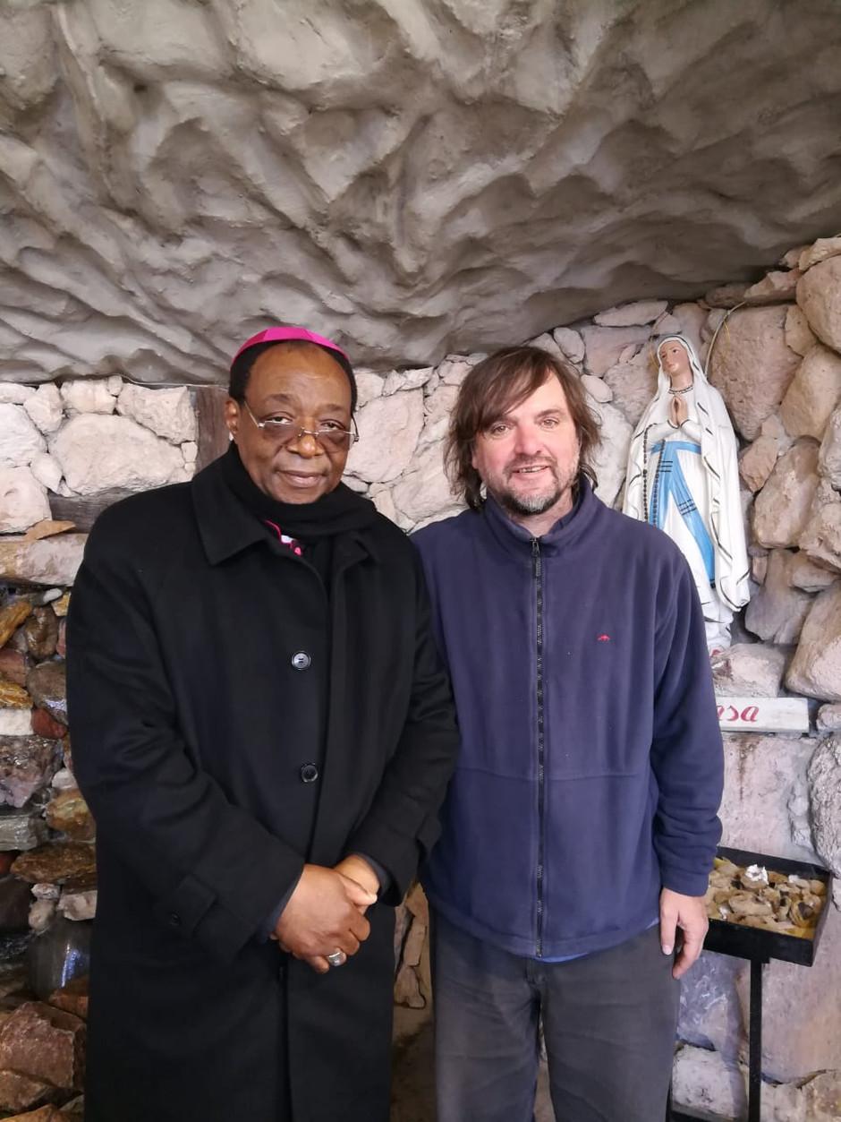 Recibimos la visita del Nuncio de Nuestro Pais
