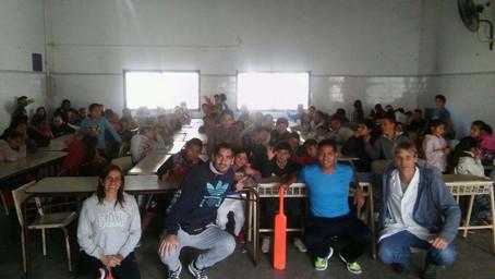 Cricket sin Fronteras en escuelas de José León Suárez
