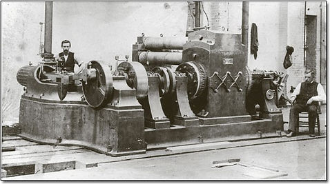 Edison's Jumbo Dynamo, 1882 (Direct Current Generator)