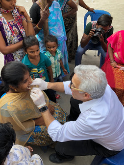Dr. Gerry Curatola opens new clinic in India