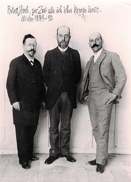 Robert Koch with Colleagues in Alexandria, Egypt 1891