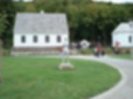 Tesla's rebuilt house in Smiljan