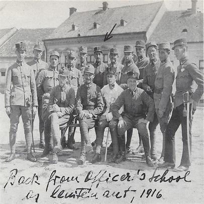 Wilhelm Reich back from officer's school