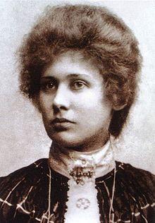 photo of Ita Wegman before 1900