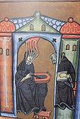 Painting of Saint Hildegard of Bingen