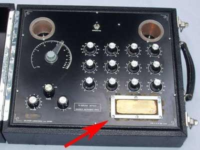 De La Warr Radionic Detector