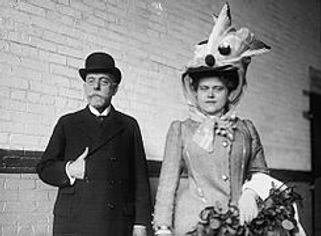 Hedwig Freiberg with Robert Koch