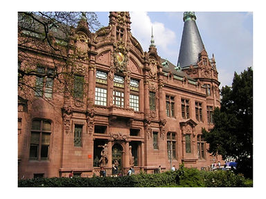 University of Heidelberg Main Building -