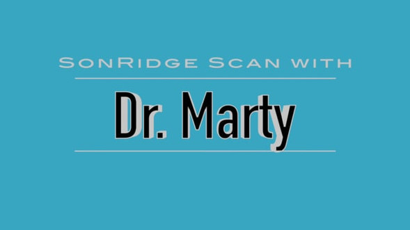 SonRidge Scan with Dr. Marty