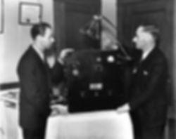 Dr. Rife and Philip Hoyland