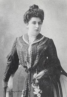 Wilhelm Reich's mother, Cacile Roniger-Reich, 1908