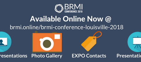 #BRMI2018 Post-Conference Resource Centeris Complete!