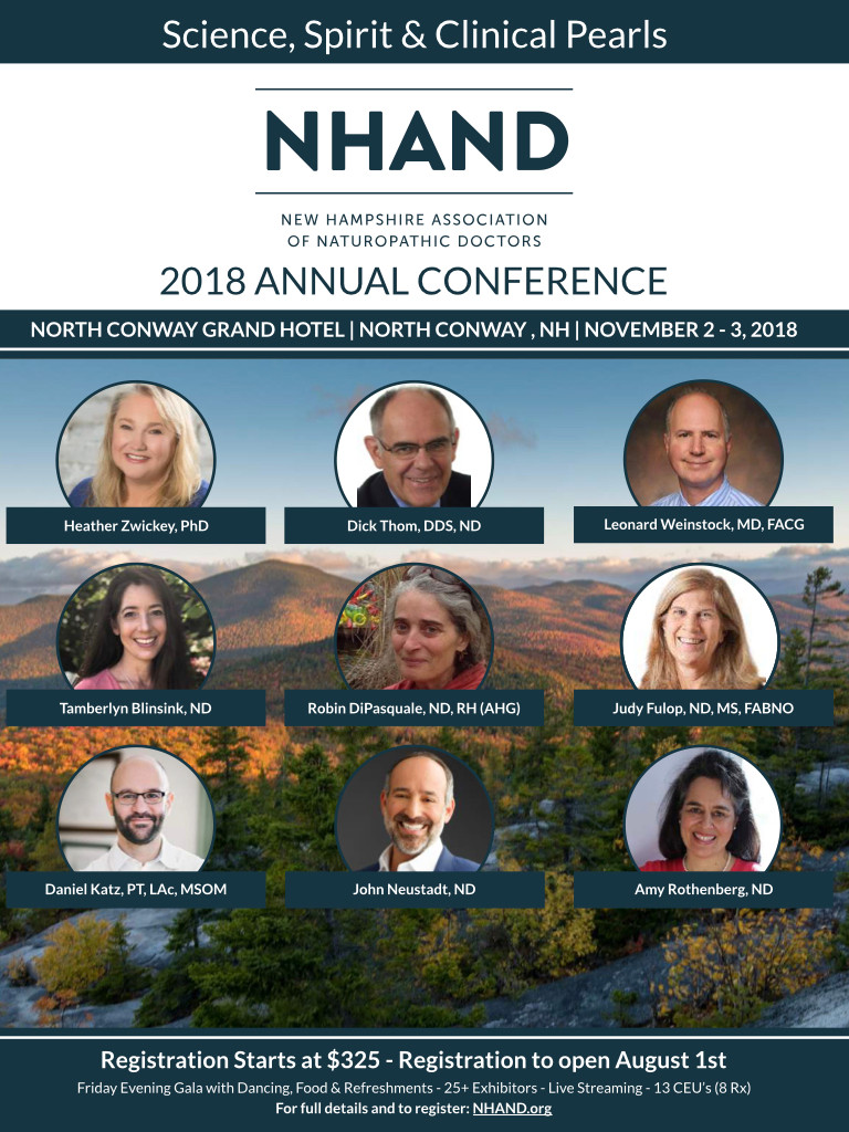NHAND 2018 Annual Conference